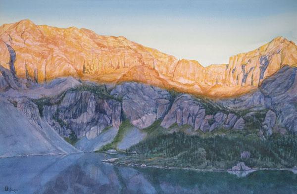 JuneCurt GillespieMorning Solitude - Upper Sand Creek Lake