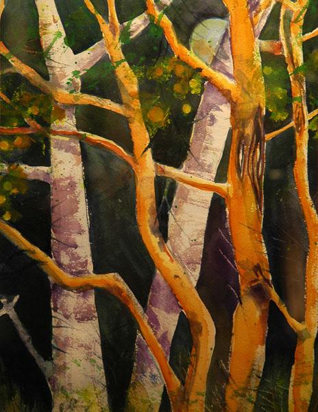 Golden Artists Colors Award, JeanieTruitt, Blue Moon