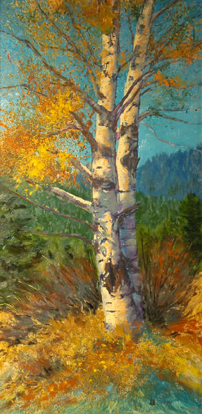 A Painted View Ranch Award, Curt Gillespie, Old Gnarly