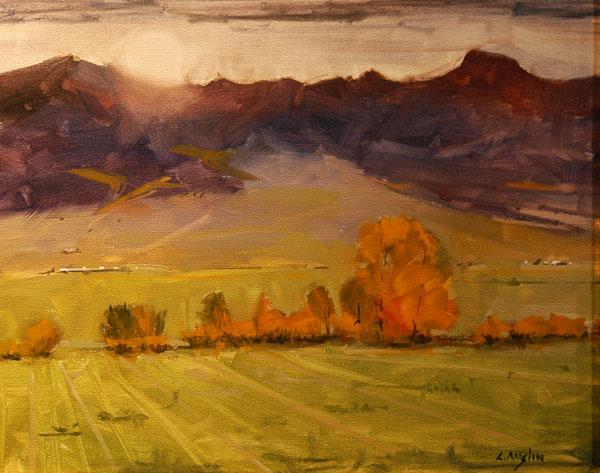 Front Range Frames Award, Cliff Austin, Sunset