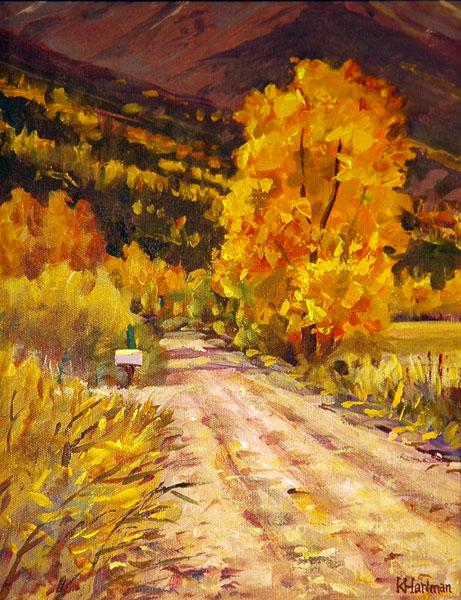 Colorado FrameSmith Award #2, Ken Hartman, That Time of Year