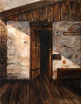 """Colorado FrameSmith Award #4""""There May Be Ghosts"""" by Cheryl Swartz"""