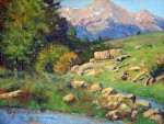 """Front Range Frames Award""""Near the Confluence"""" by Curt Gillespie"""