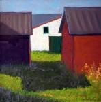 "Juror's Choice""Morning Light – Rodeo Grounds"" by Lana Woodruff"