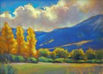 "Pastel ""Before The Storm"" by Susan Mayfield"